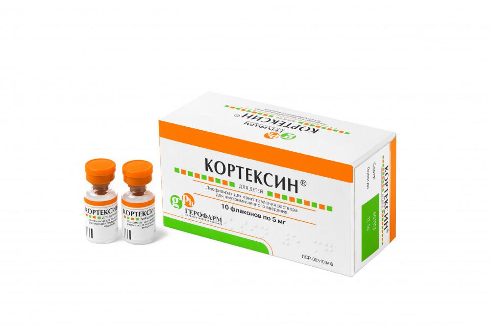 Кортексин (фл. 5мг №10)