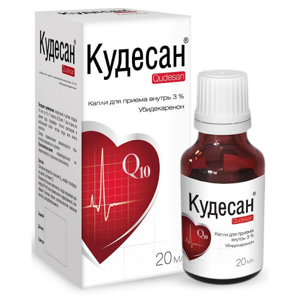 Кудесан-Q10 (фл.3% 20мл капли)