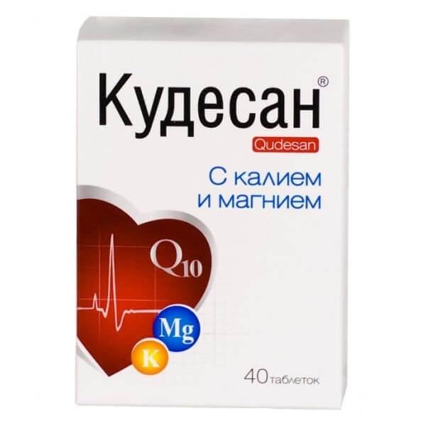 Кудесан-Q10 (калий/магний таб. №40)