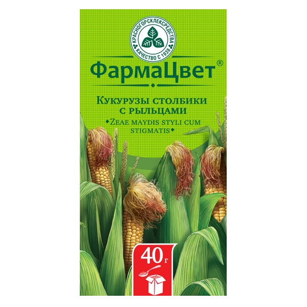 Кукурузы столбики с рыльцами (40г)