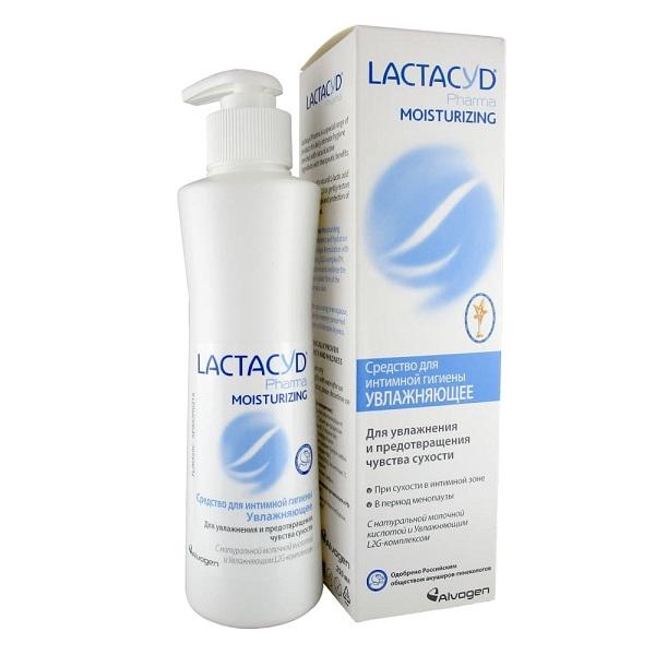 Лактацид Фарма увлажняющее средство для интимной гигиены флакон 250мл фото