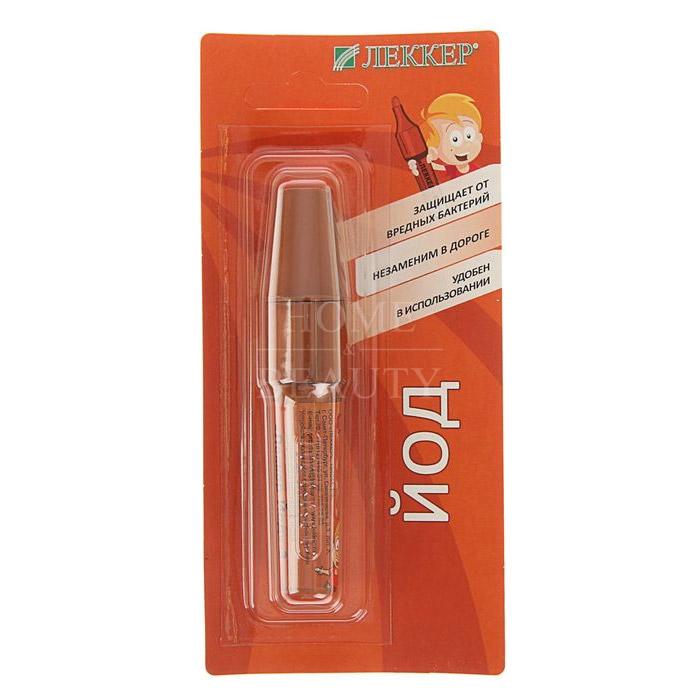Леккер-Йод (карандаш 5%  5мл)