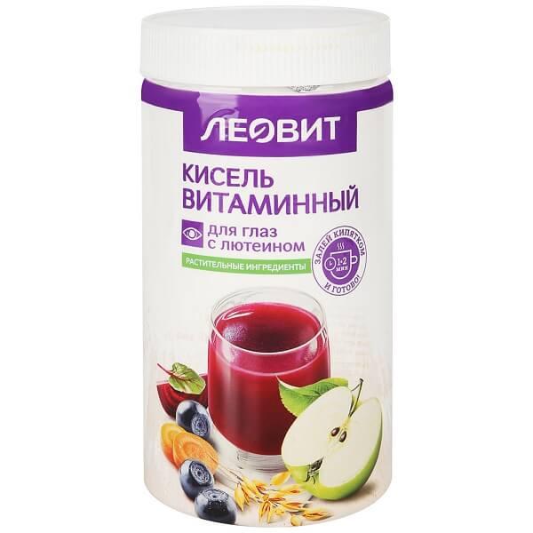 Леовит кисель (витаминный д/глаз с лютеином 400г)