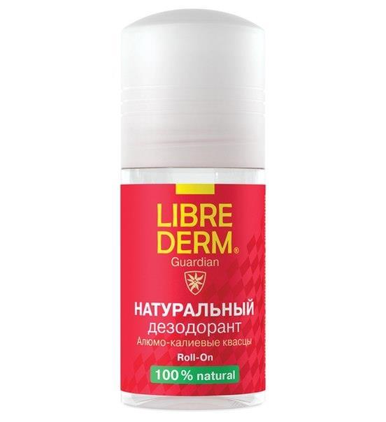 Либридерм натуральный дезодорант шариковый 50мл