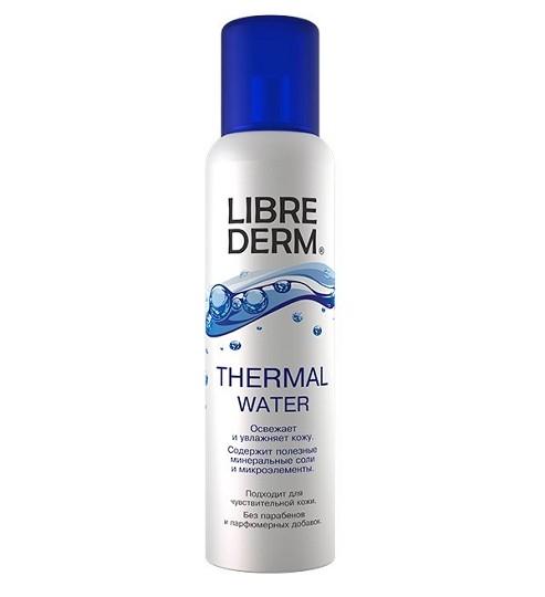 Либридерм термальная вода флакон  125г