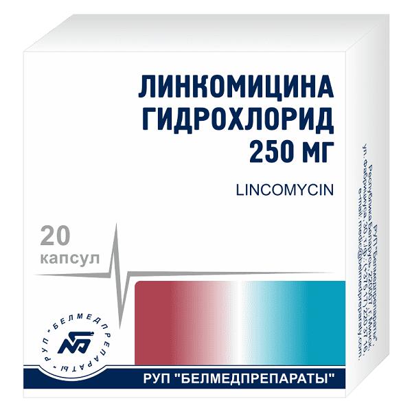 Линкомицин (капс. 250мг №20)