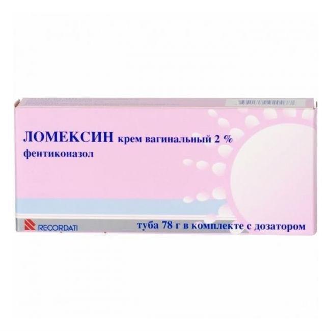 Ломексин (ваг.крем 2% 78 гр)