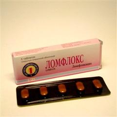 Ломфлокс таблетки 400мг №5