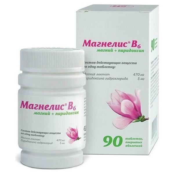 Магнелис В6 таблетки №90