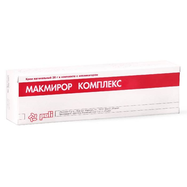 Макмирор Комплекс (крем ваг. туба 30г)