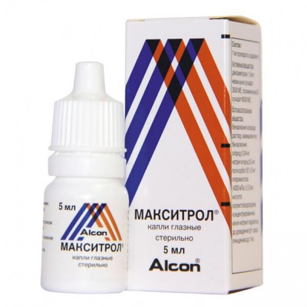 Макситрол (фл. 0.1% 5мл)