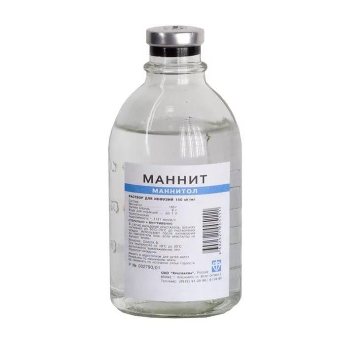 Маннит (фл. 15% 400мл)