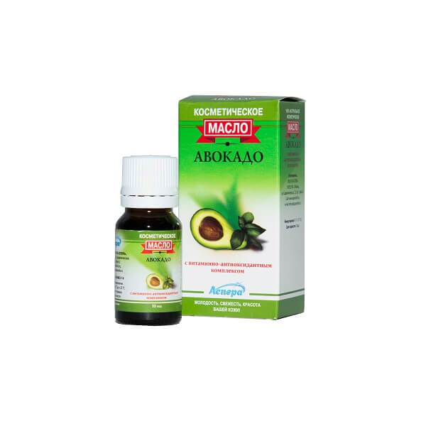 Масло Авокадо с витаминно-антиоксидантным комплексом 10мл фото