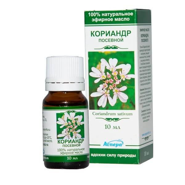 Масло кориандра (фл.10мл (эфирн))