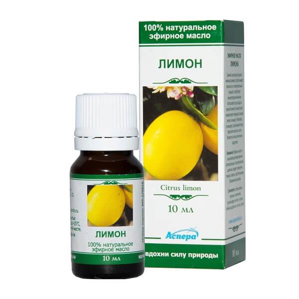Масло Лимонное флакон 10мл эфирное