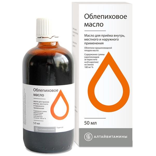 Масло облепиховое (фл.50мл)