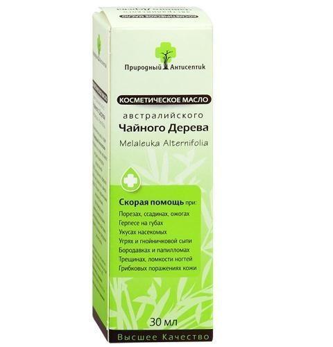 Масло природный антисептик спрей 30мл Чайное Дерево