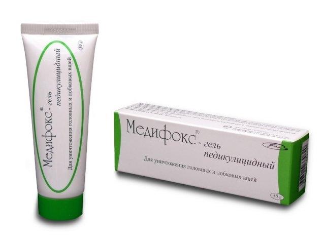 Медифокс гель для лечения педикулеза 50г