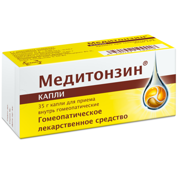 Медитонзин флакон 35г