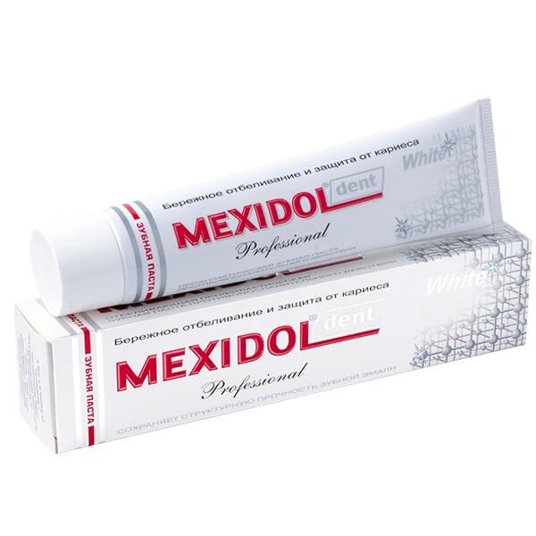 Мексидол Дент Вайт Профешнл зубная паста 65г