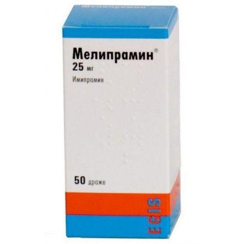 Мелипрамин (таб. п/о 25мг №50)
