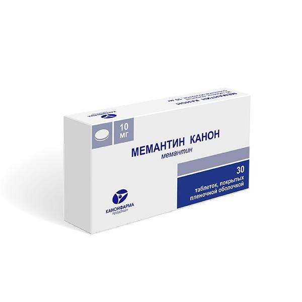 Мемантин Канон таблетки 10мг №30