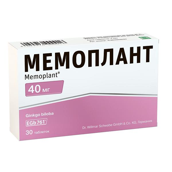 Мемоплант (таб. п/о 40мг №30)