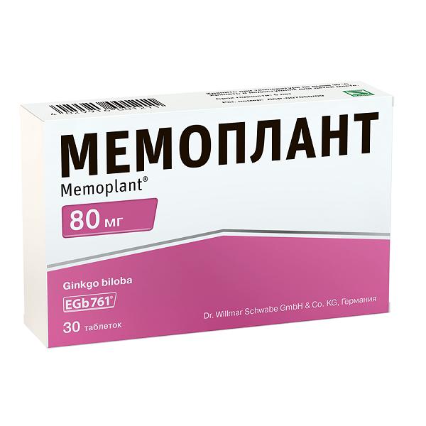 Мемоплант (таб. п/о 80мг №30)