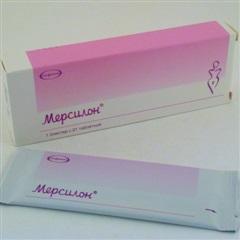 Мерсилон таблетки №21
