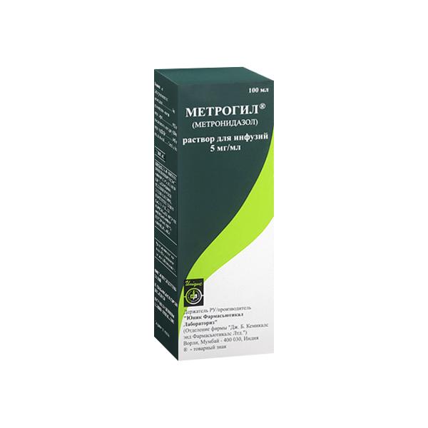 Метрогил (фл. 5мг/мл 100мл)