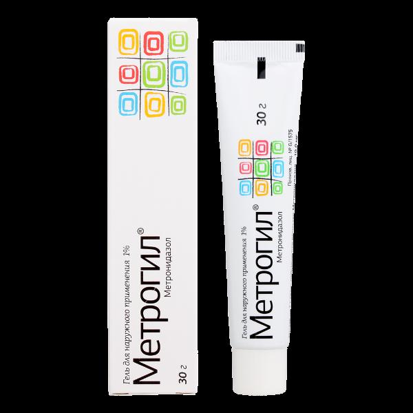 Метрогил гель (туба 30г)