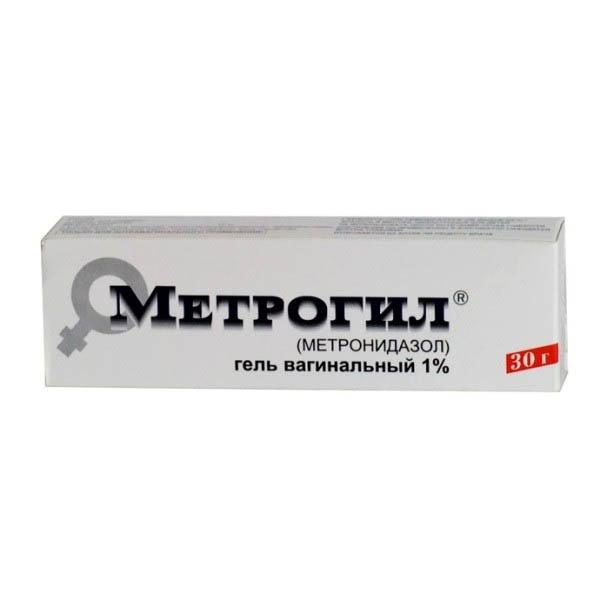 Метрогил  ваг. гель (туба 30г с апплик.)