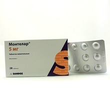 Монтелар таблетки жевательные 5мг №28