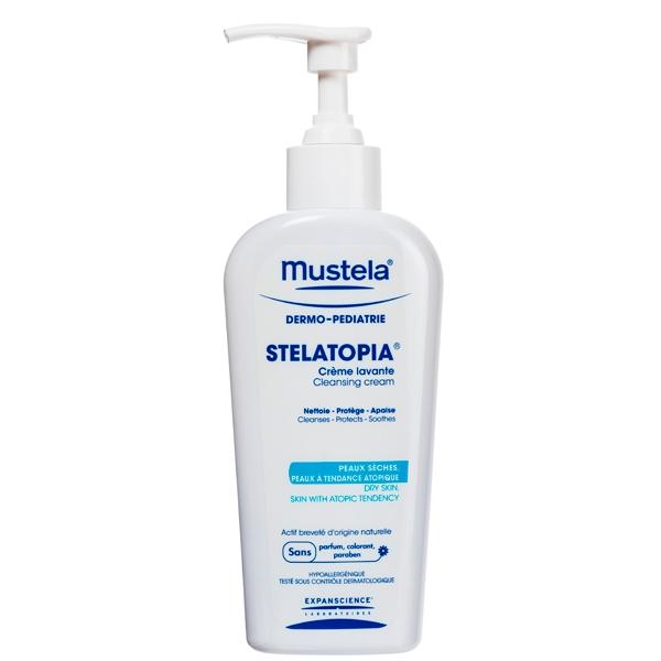 Мустела Стелатопия крем для мытья с дозатором