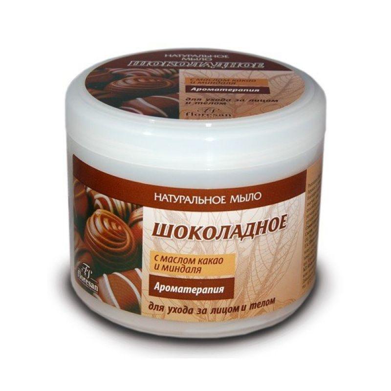 Мыло натуральное (шоколадное д/лица и тела банка