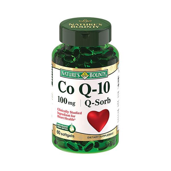 Нэйчес баунти коэнзим q-10 (капс. 100мг №60)