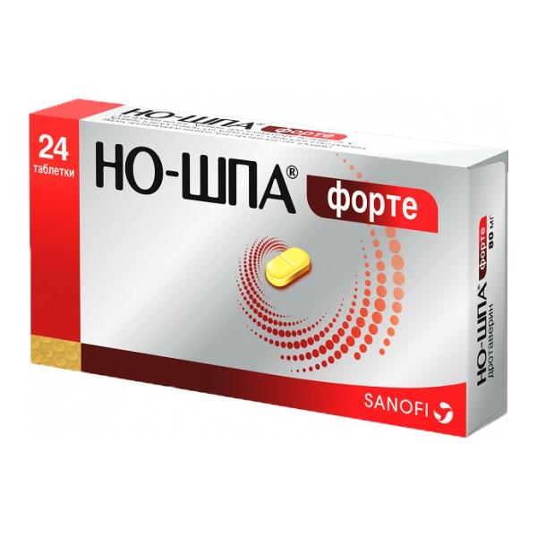 Но-шпа Форте таблетки 80мг №24
