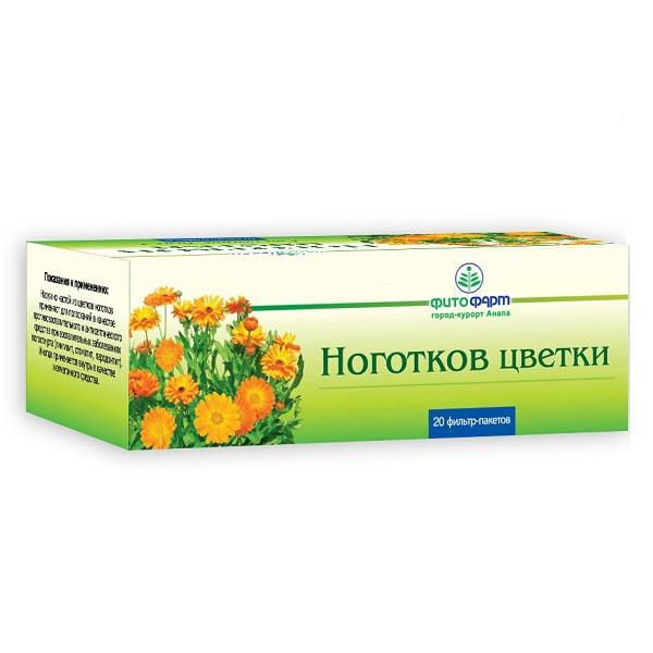 Ноготков цветки (ф/п 1,5г №20)