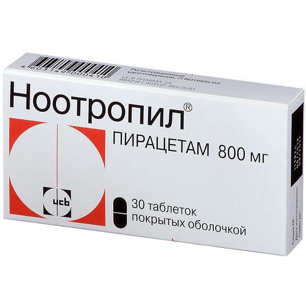 Ноотропил (таб.п/об.800мг №30)