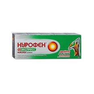 Нурофен Экспресс 5% гель туба 100г