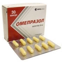 Омепразол (Омез) (капс. 20мг №30)