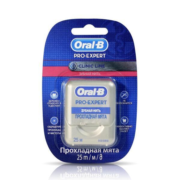 Орал-би зубная нить (про-эксперт клиник 25м)