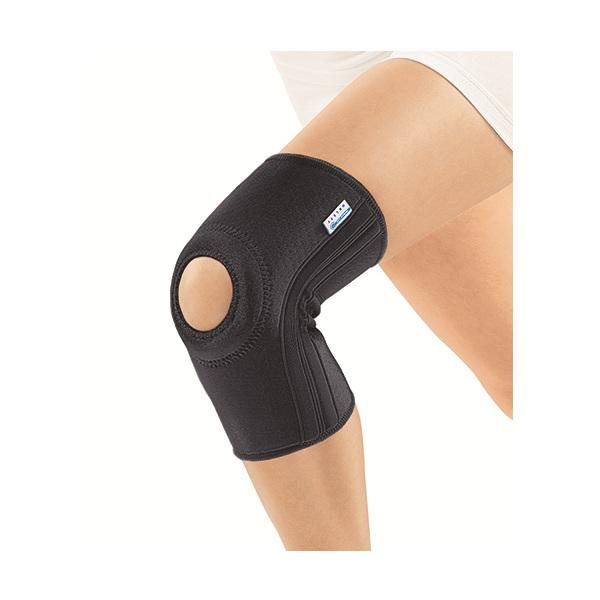 Орлетт Бандаж на колено с фиксирующей подушечкой и ребристой спиралью RKN-103M (pL) фото