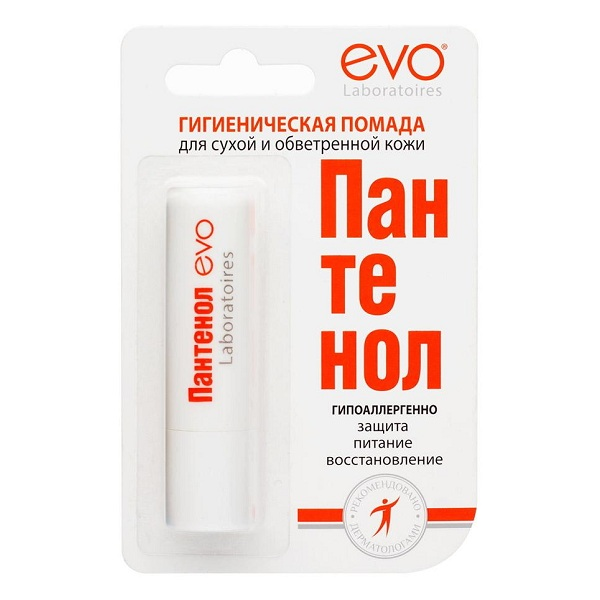 Пантенол EVO (2.8  помада гигиенич.)