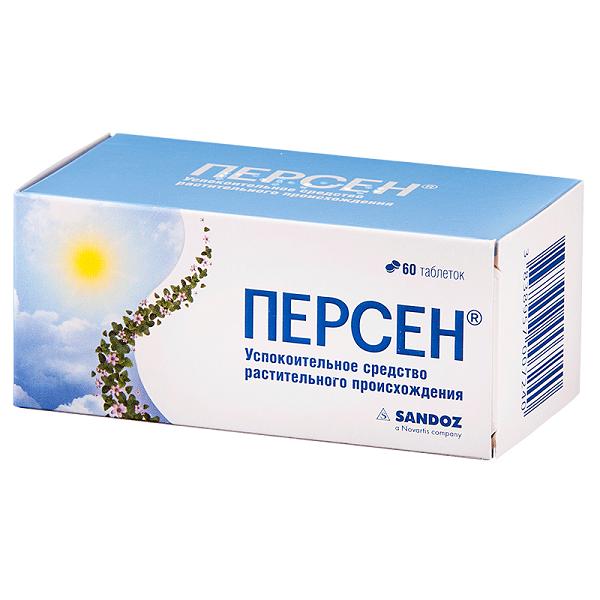 Персен таблетки п/об. №60