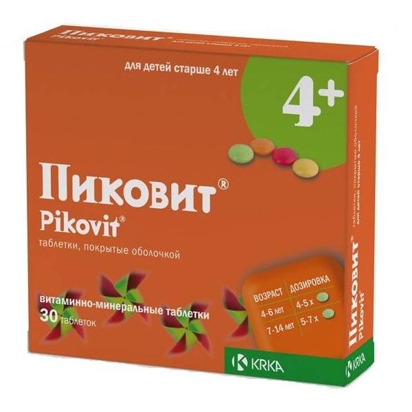 Пиковит (таб.п/об. №30)