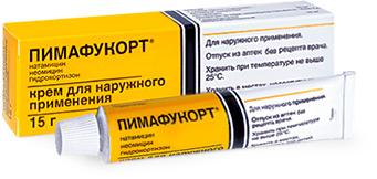 Пимафукорт крем (туба 15г)