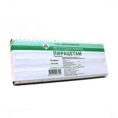 Пирацетам (амп. 20% 5мл №10)