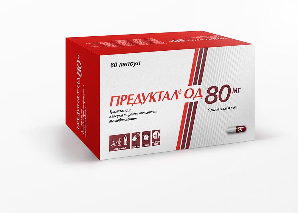 Предуктал ОД (капс.пролон.высв.80мг №60)