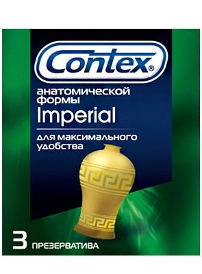 Презервативы Contex №3 Империал анатомической формы